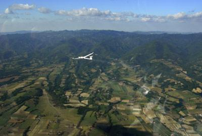 Volo in Aliante con Aeroclub Volovelistico del Mugello