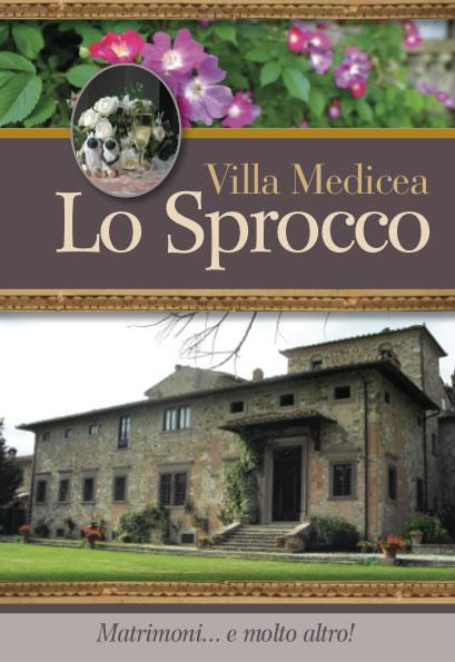 brochure Villa Lo Sprocco