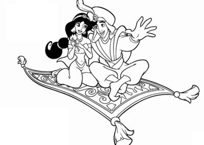 Menù Aladino e Jasmine